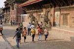 Patan street, Nepal