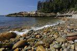 cobble beach, Acadia National Park, Mount Desert Island, Maine