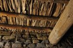 original ceiling beams, 1100 AD, Aztec Ruins, NM