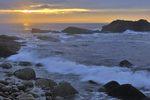 sunrise on the rocks, Acadia National Park, Maine