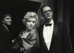 England,London,Laurence Olivier,Marilyn Monroe, and her husband, Arthur Miller at a first night for a new play at the Comedy Theatre, October,1956.