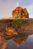 North America, USA, Nevada, Black Rock Desert, Fly Geyser