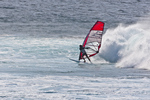 North America, USA, Hawaii, Maui, Hookipa Beach Park. Wind surfing