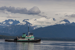 North America, USA, Alaska, Tongass National Forest, tug boat