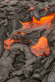 North America, USA, Hawaii, Kilauea, volcano, lava flowing