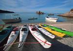 Kayaking off Cabo