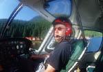 Helicopter pilot skims over coastal British Columbia