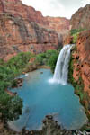 Havasupai Falls. Namesake waterfall sets the tone for Havasupai Canyon, one of the 600 side canyons of the Grand Canyon.