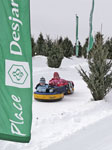 Tubing at Quebec Winter Carnival