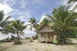 Idyllic island scene