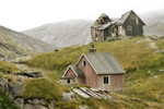 Deserted Greenland village