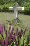 Memorial to those who died on Peleliu,Palau, Micronesia.