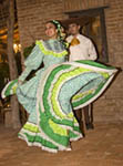 Spanish style dances performed in El Fuerte, Mexico.