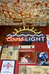 Shooting Star Saloon,a quirky bar in Huntsville, Utah.