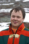 Young Sámi man talks about the life of his people.