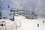 Ski Dubai, indoor ski resort in the Mall of the Emirates, Dubai.
