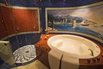 Burj Al Arab suite's deluxe bathroom, Dubai, UAE.