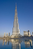 Burj Khalifa, tallest building in the world, Dubai, UAE
