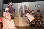Scene from melodrama play in Wallace, Idaho