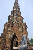 Wat Chai Wattanaram, part of Ayutthaya complex in Bangkok, Thailand.