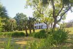 Orman House, an historic southern mansion that is now a state park in Apalachicola, Florida.