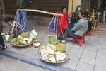 Street scene in the