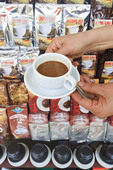 Asia's infamous 'weasel' coffee sold on the streets of Vietnam.