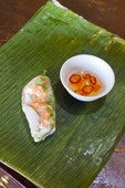 Spring roll (salad roll) called Goi Cuon in Vietnamese