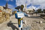 Kedumim Square in Old Jaffa.