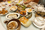 Dim sum dishes served at Fisherman's Terrace Seafood Restaurant in Richmond, BC, Canada.