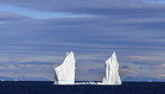 Iceberg in waters off the northwest coast of Greenland