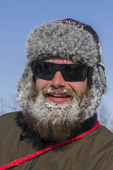 Extreme cold freezes your breath, forming ice crystals on beards, faces and scarves.