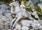 Statue of Prince Siddhartha, future Buddha, at Co Lam Vietnamese Buddhist temple.