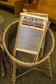 Columbus Washboard Co., Logan, Ohio. The company makes 88 different kinds of washboards which are still in demand.