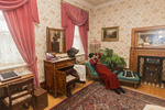 The First Guest Bedroom in Government House in Regina, Saskatchewan, Canada,
