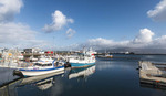 Reykjavik's tourist waterfront at the Old Harbour.