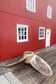 Exterior of Nordfjordur museum known as Museum House.