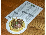 """The """"Bob Marley,"""" a gourmet poutine dish served at Sante Grille, a restaurant in the base village of Big White ski resort, British Columbia, Canada."""