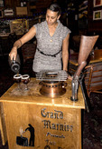 The Gun Barrel coffee show at Snowshoe Sam's restaurant at the base of Big White ski resort.
