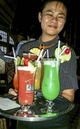 The REAL Singapore Sling, at Raffles Hotel in Singapore