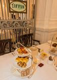 High tea at Sinpagore's Raffles Hotel