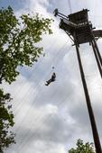 Zipline adventure at Branson Zipline Canopy Tours in Branson, MO.