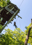 Zipline adventure at Branson Zipline Canopy Tours in Branson, MO.