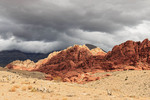 Storm clouds in Red Rock Canyon National Conservation Area