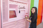 Cupcake ATM by Sprinkles, a cupcake shop in Las Vegas,NV.