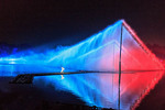 """""""Impression West Lake,"""" a spectacular water and light show performed on Hangzhou's West Lake."""