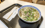 Yummy lamb noodle soup at Xi An Cuisine in Richmond Public Market, Richmond, BC, Canada