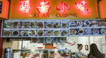 Xi An Cuisine in Richmond Public Market, Richmond, BC, Canada, known for its noodle soup.