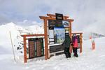 Kicking Horse ski resort near Golden, BC, Canada.