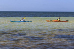 Kayaking at Bahia Honda State Park along the Florida Keys.